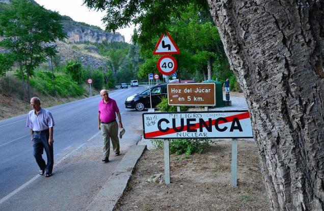 Peligro nuclear: Cuenca